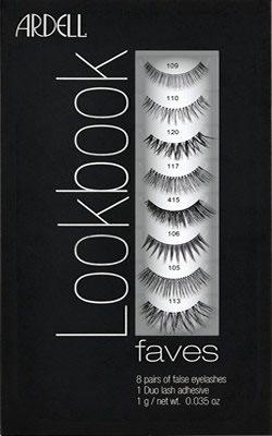 2cfc1fbd8e8 Ardell Lash Lookbook 8 Pairs + Duo Glue (Gift Set), Ardell Natural Eyelashes  - Madame Madeline Lashes