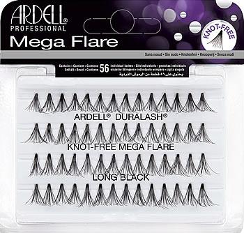 Ardell Mega Flare Individual Lashes Long Black