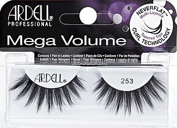 f7dcdc00766 Ardell Mega Volume Lashes #253, Ardell Professional 3D Mega Volume ...