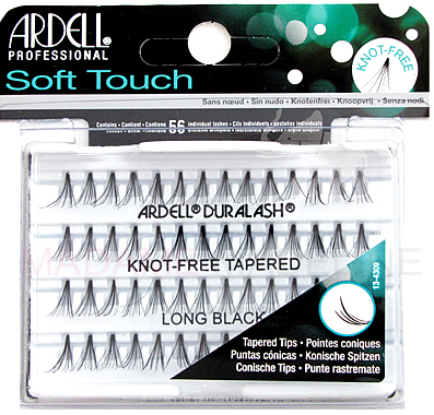 015e54fa5b1 Ardell Soft Touch Knot-Free Individuals Long Black, Ardell Soft Touch Lashes  Collection - Madame Madeline Lashes