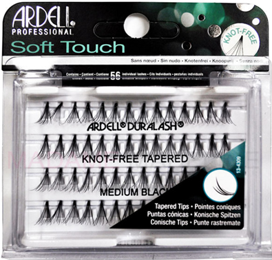 f5d447bf5ff Ardell Soft Touch Knot-Free Individuals Medium Black, Andrea MOD ...