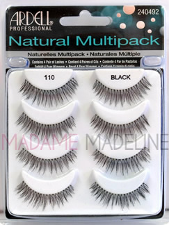 955b8b6a2ad Ardell Natural Multipack #110 (61407), Ardell Natural Multipack - Madame  Madeline Lashes