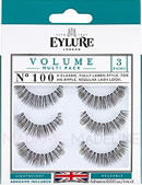Eylure Naturalites VOLUME TRIPLE PACK N° 100