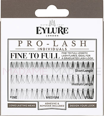 4f907d6afdb Eylure PRO-LASH Individuals - FINE TO FULL COMBO, SALON ESSENTIALS - Madame  Madeline Lashes
