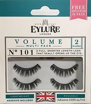 0ca989535b3 Eylure Naturalites VOLUME TWINPACK N° 101, Eylure Strip Eyelashes - Rebrand  Packaging - Madame Madeline Lashes