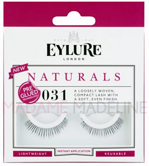 c4b65b41d43 Eylure Naturals Pre-Glued Lashes #031, False Eyelashes - Madame Madeline  Lashes