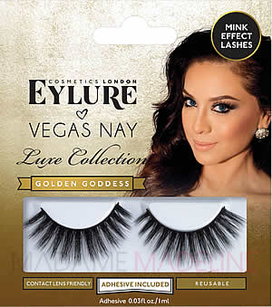 4a776d55a97 Vegas Nay Lashes - Golden Goddess, Vegas Nay Lashes by Eylure - Madame  Madeline Lashes