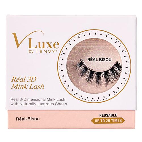 0a15e801a11 V-Luxe by KISS i-Envy Real 3D Mink Lashes - Real Bisou (VLER01), Mink  Eyelashes - Madame Madeline Lashes