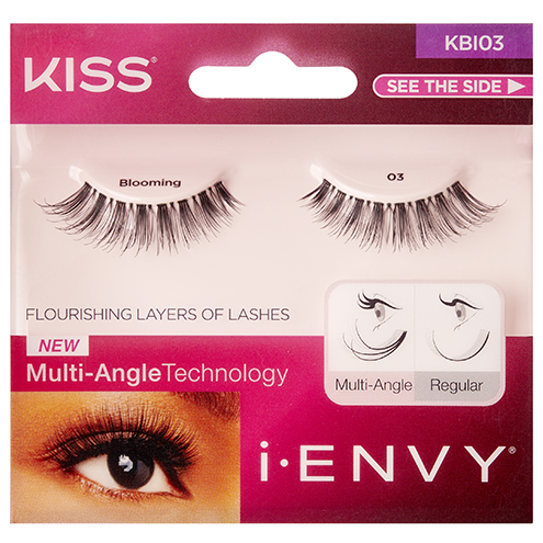 775396f9bc5 KISS i-Envy Blooming 03 Black Strip Eyelashes (KBI03), Blooming Lash  Collection by KISS - Madame Madeline Lashes