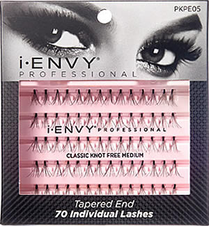 b5360dcf518 KISS i-ENVY Professional Individual Lashes KNOT FREE MEDIUM (PKPE05), i-ENVY  Individual Lashes by KISS - Madame Madeline Lashes