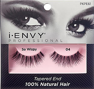 fd39389d202 KISS i-ENVY Professional So Wispy 04 Lashes (PKPE61), Eylure Ready ...