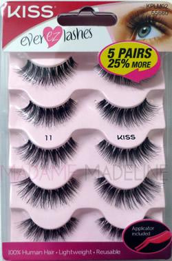 e2f2012280e KISS EVER-EZ Multi-Pack (Lash #11), EVER EZ Lashes by KISS - Madame  Madeline Lashes