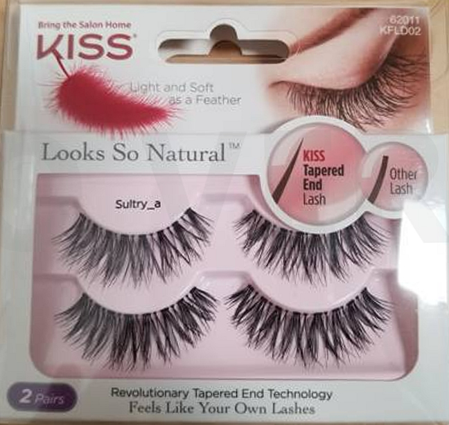 3c5163c0bef KISS Looks So Natural Lashes Double Pack - Sultry, Looks So Natural ...