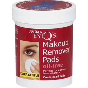Andrea Eye Q's Oil-Free Makeup Remover Pads