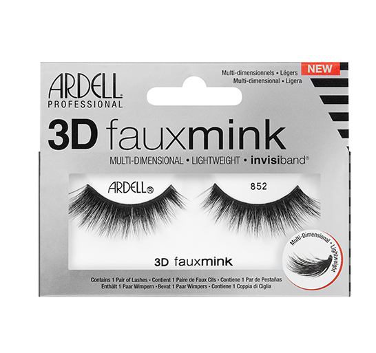 7890e0a8f3a Ardell 3D Faux Mink Lashes 852, Synthetic Mink Strip Lashes - Madame  Madeline Lashes