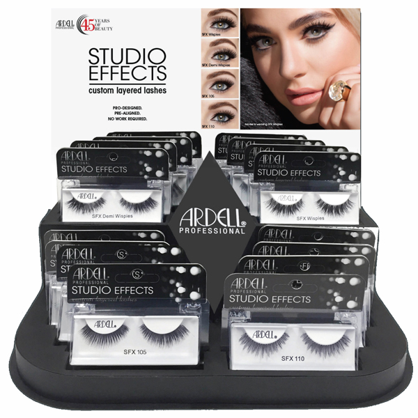 Ardell Studio Effects 16 Piece Display - 4 Styles