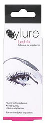 Eylure Lashfix Adhesive (Adhesive for Eylure Strip eyelashes, 6ml) is a long lasting adhesive that dries quickly and is safe and effective.