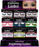 Find fanciful lashes and temp hair dyes to compliment those false eyelashes.