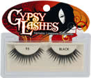 Gypsy Strip Lash 95 Black (Olivia Lash) enhances your natural lash line with great length and more than moderate volume.