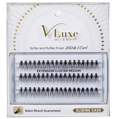 V-Luxe by KISS i-Envy Extension Cluster Short Eyelashes (VLEI01)