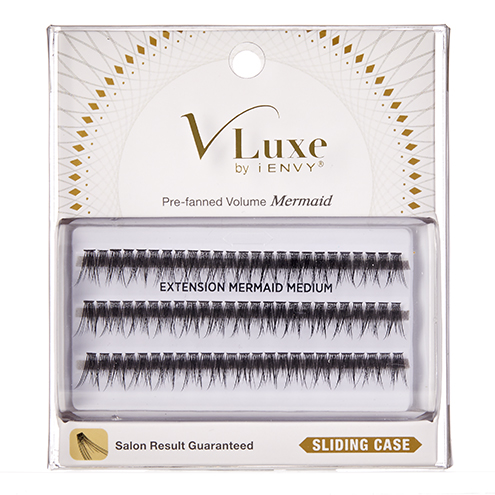 V-Luxe by KISS i-Envy Extension Cluster Mermaid Medium Eyelashes (VLEI04)