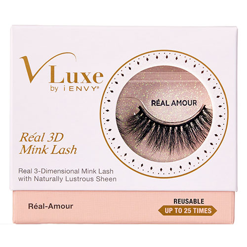 V-Luxe by KISS i-Envy Real 3D Mink Lashes – Réal-Amour (VLER04)