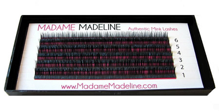 Madame Madeline has such a variety of eyelashes. It is so convenient to find my style and order in quantity at a good price. If you spend $, shipping is always free and they offer free bonus items.