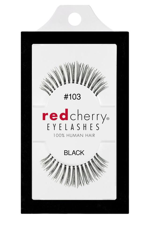 Red Cherry Lashes #103 (LELAINA)