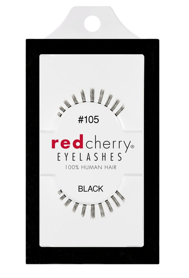 Red Cherry Lashes #105 (AUDREY)