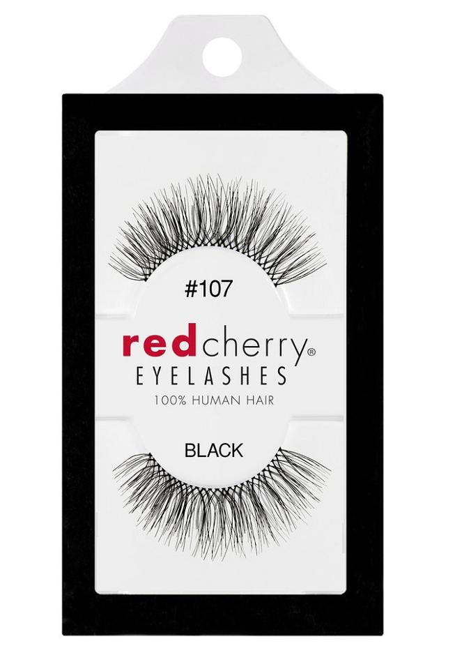 Red Cherry Lashes #107 (FRANKIE)