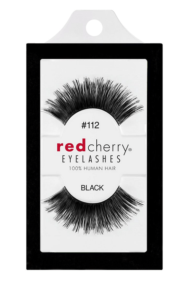 Red Cherry Lashes #112 (ROSEBUD)
