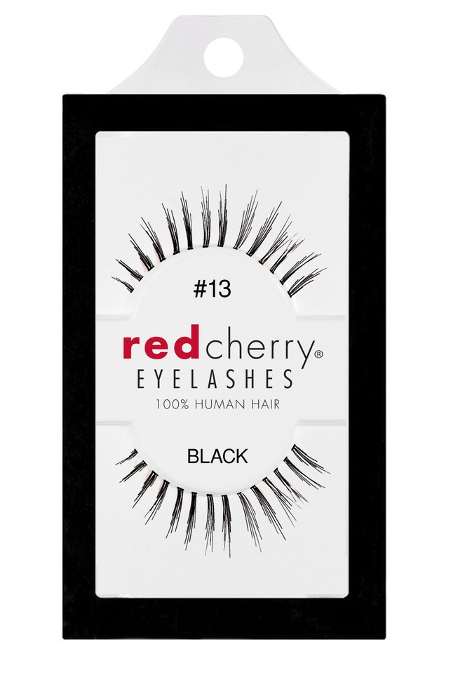 Red Cherry Lashes #13 (BONES)