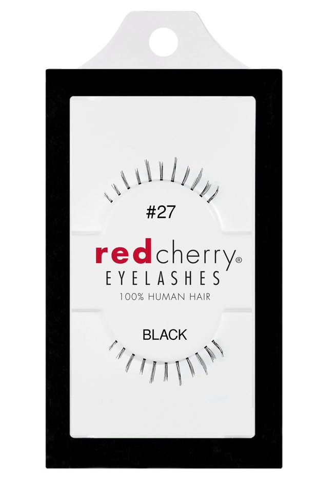 Red Cherry Lashes #27 (KINSLEY)