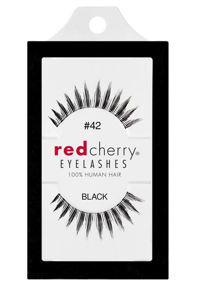 Red Cherry Lashes #42 (PADDINGTON)