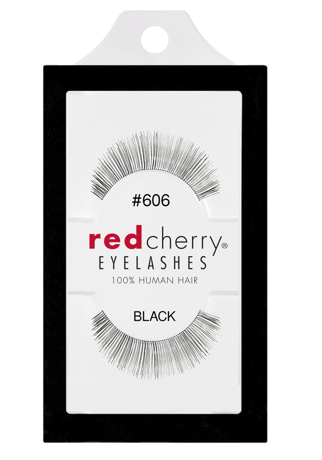 Red Cherry Lashes #606 (ANNABELLE)