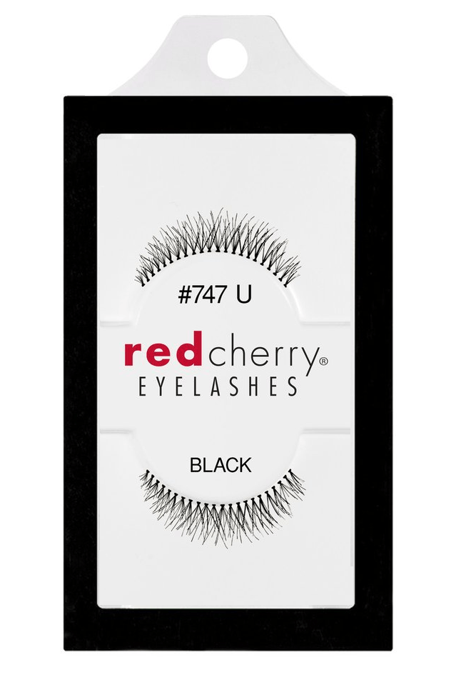 Red Cherry Lashes #747U (PEONY)